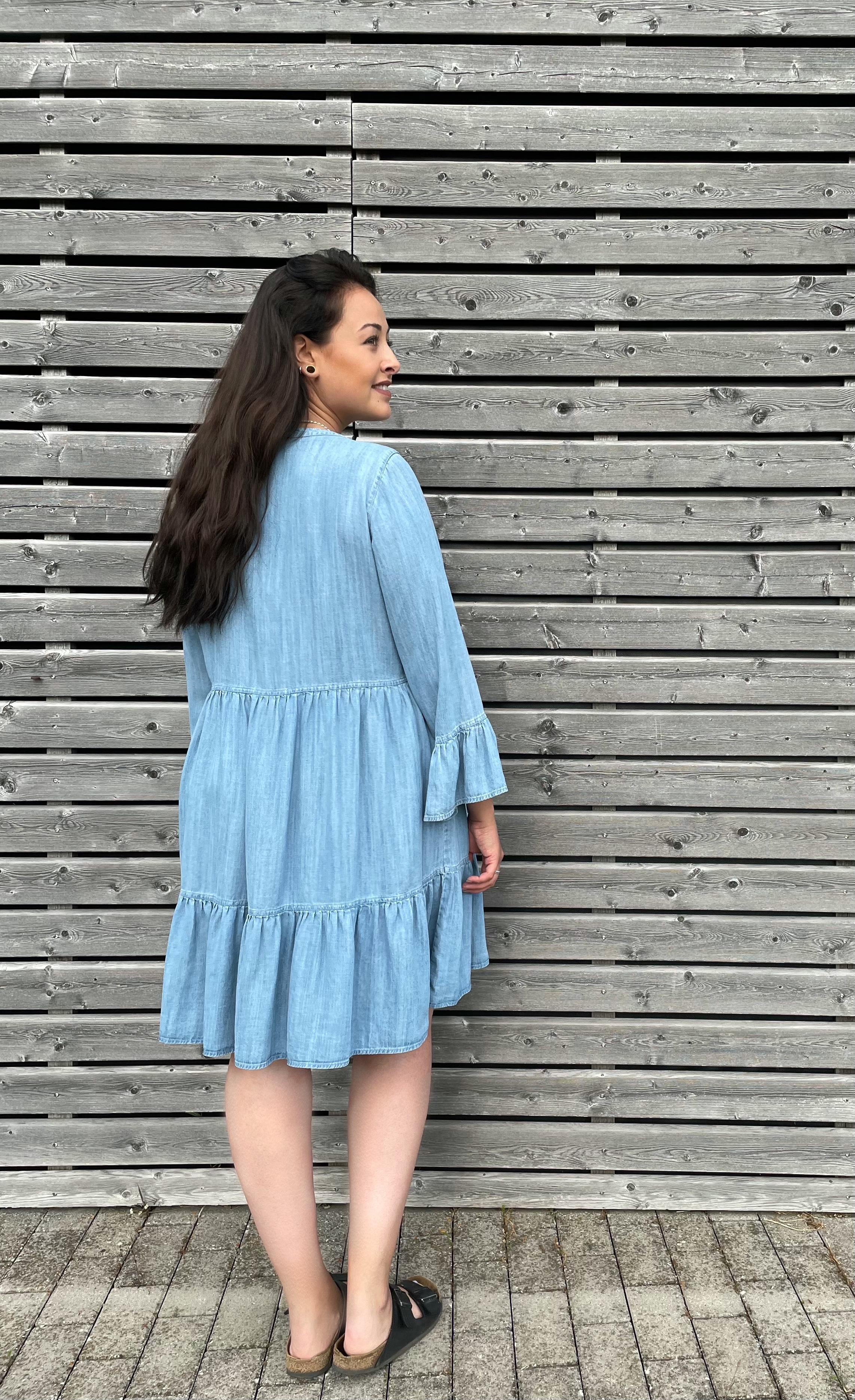 Kleid Denim - Mavi