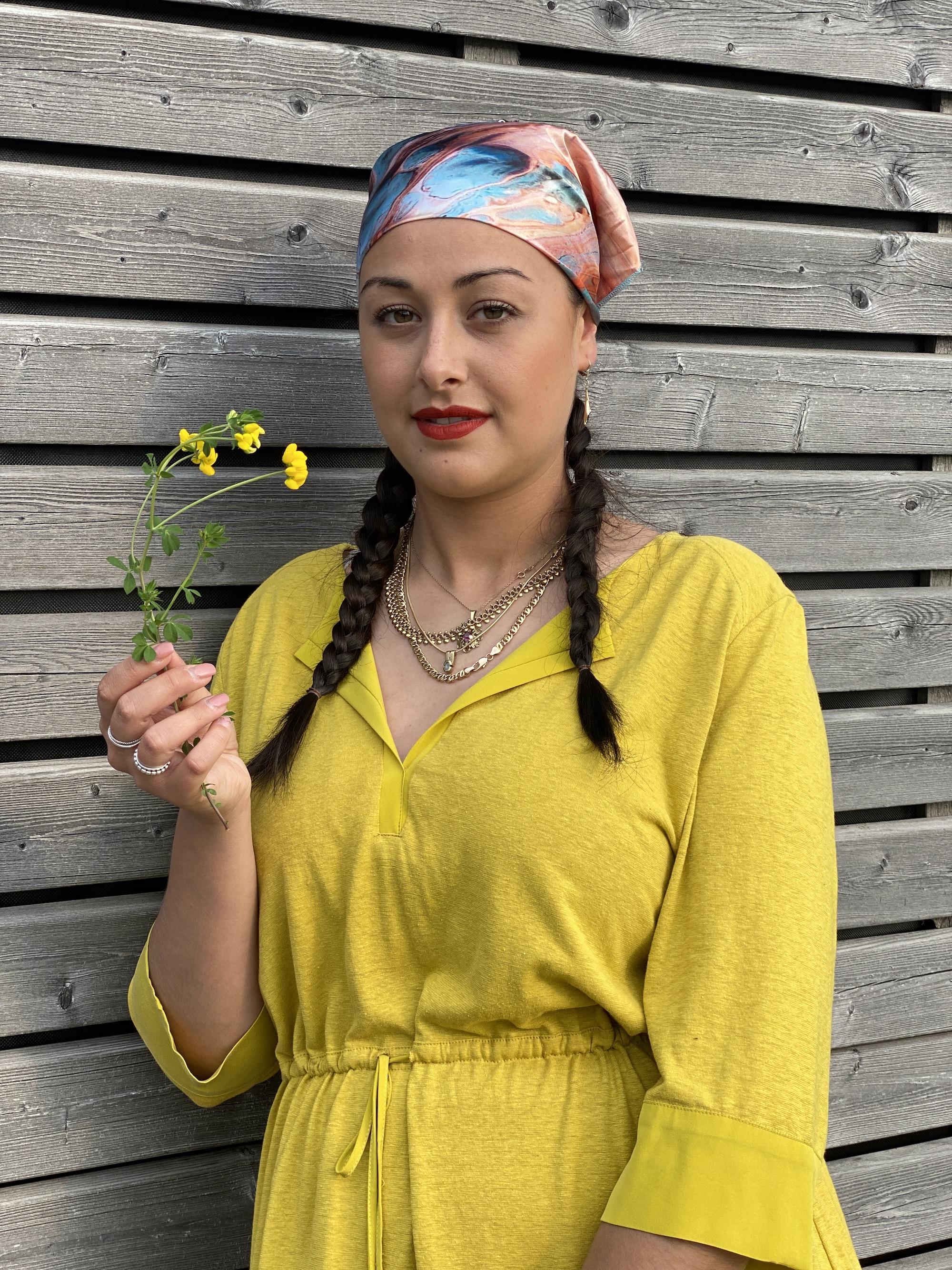Kleid Kiwi gold - Lanius