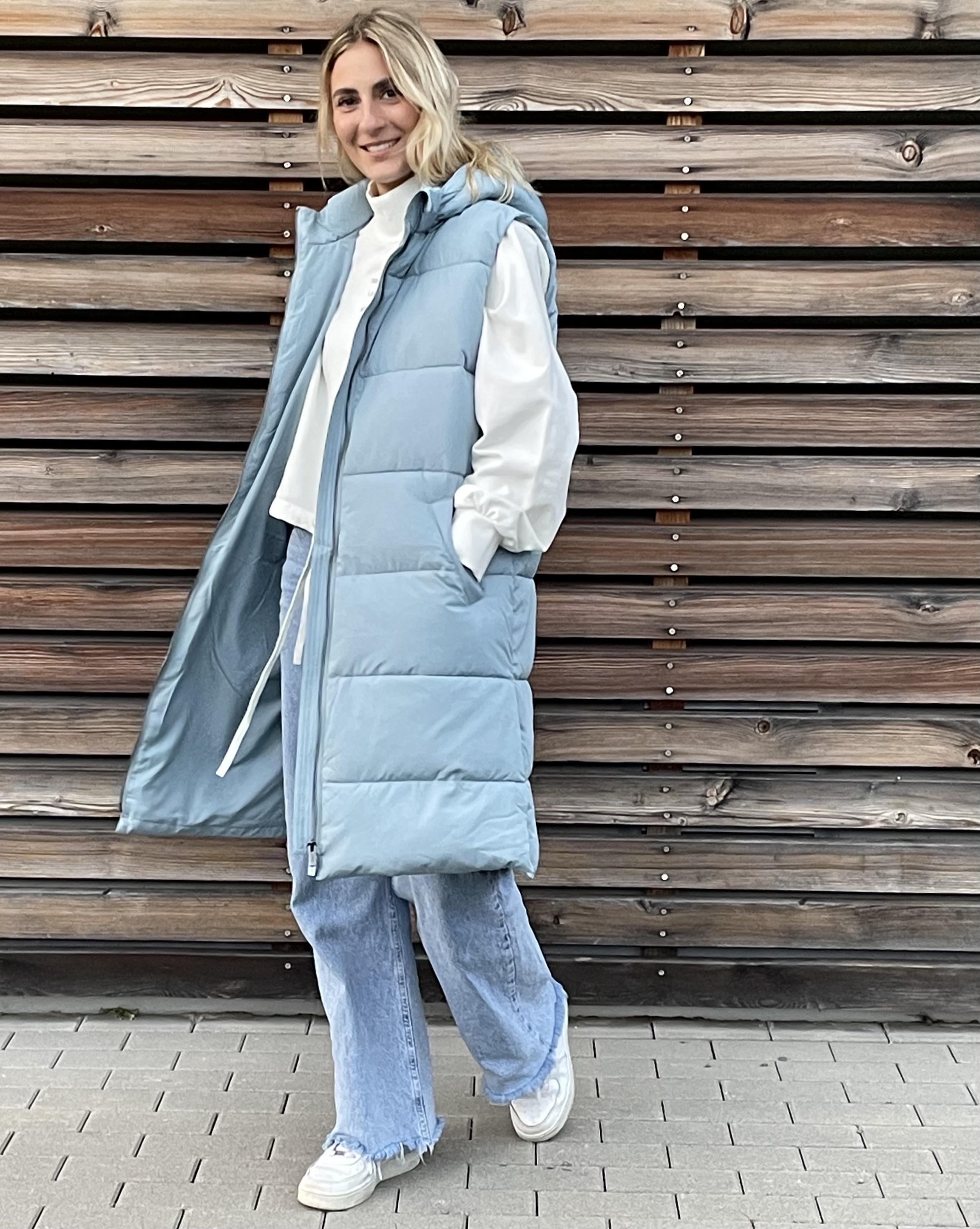 Steppweste bleu - UNQ