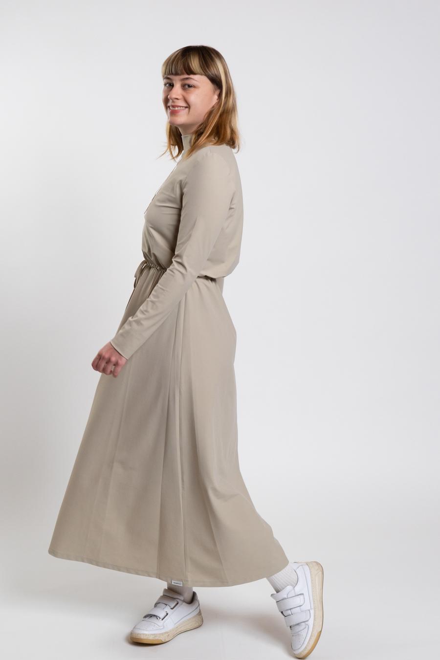 Kleid sand - Penn&Ink N.Y