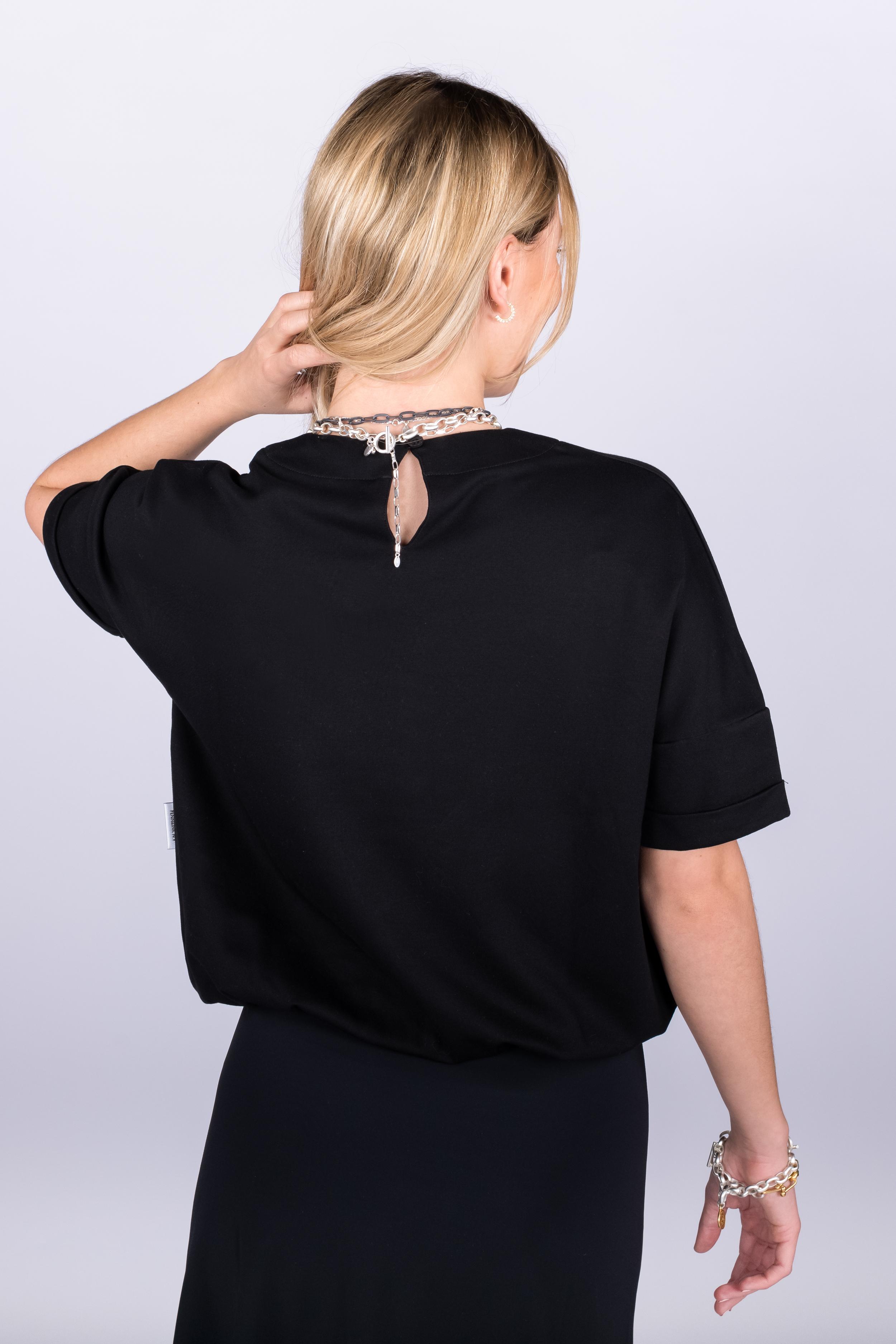 T-Shirt schwarz - Penn&Ink N.Y