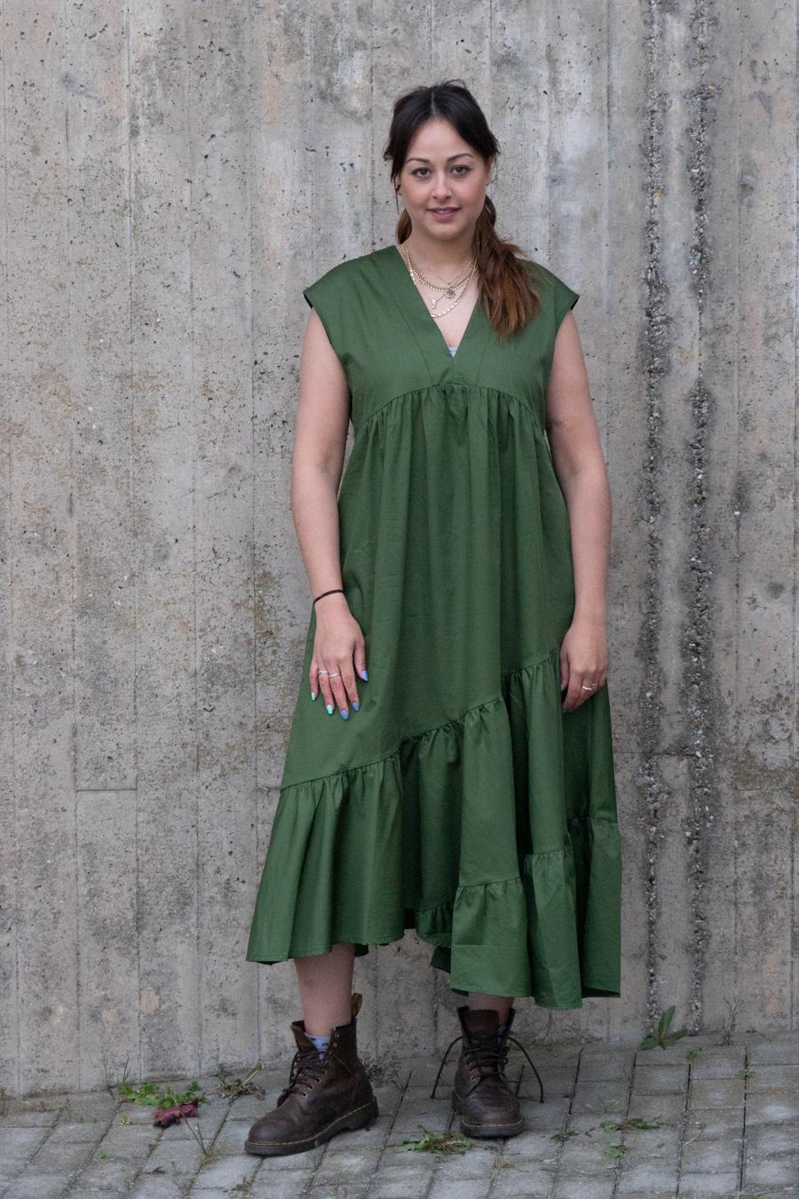 Kleid midi grün - Devotion