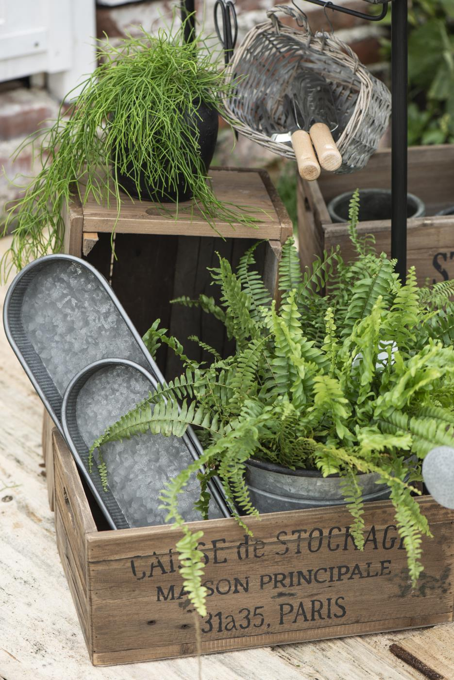 Tablettsatz je 2 m/Rillen Urban Garden ib laursen