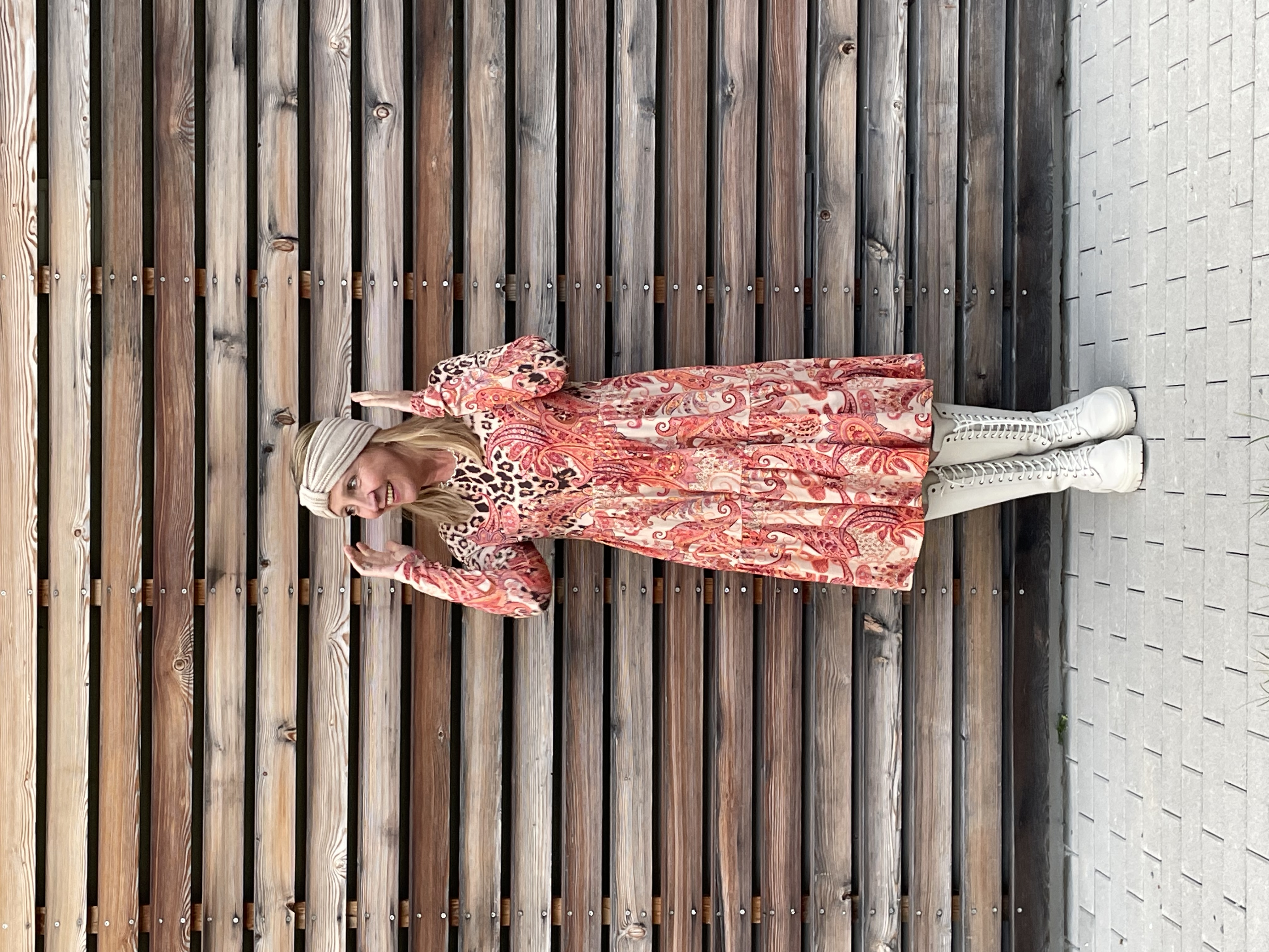 Kleid Paisley Leo - Frogbox