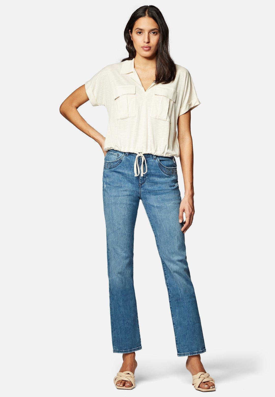 Shirt creme - Mavi