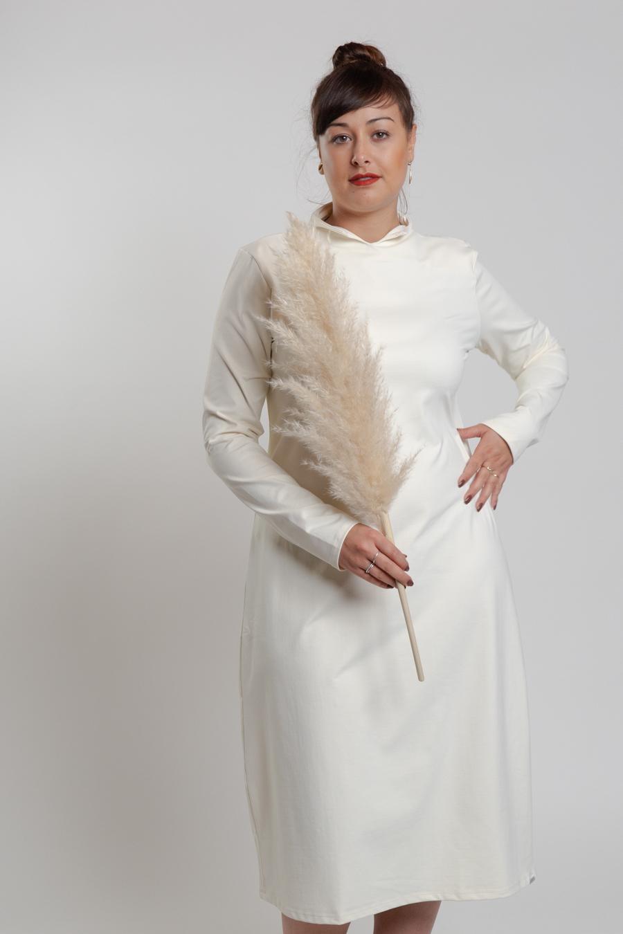 Kleid offwhite - Penn&Ink N.Y