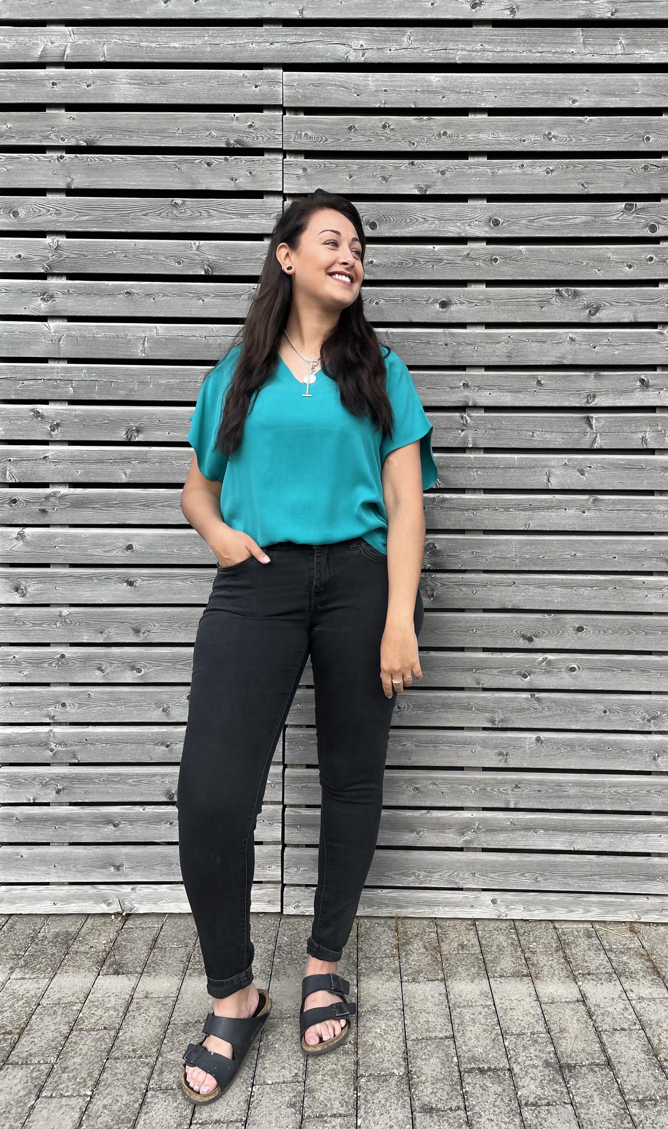 Shirt Ruby sea green - Givn