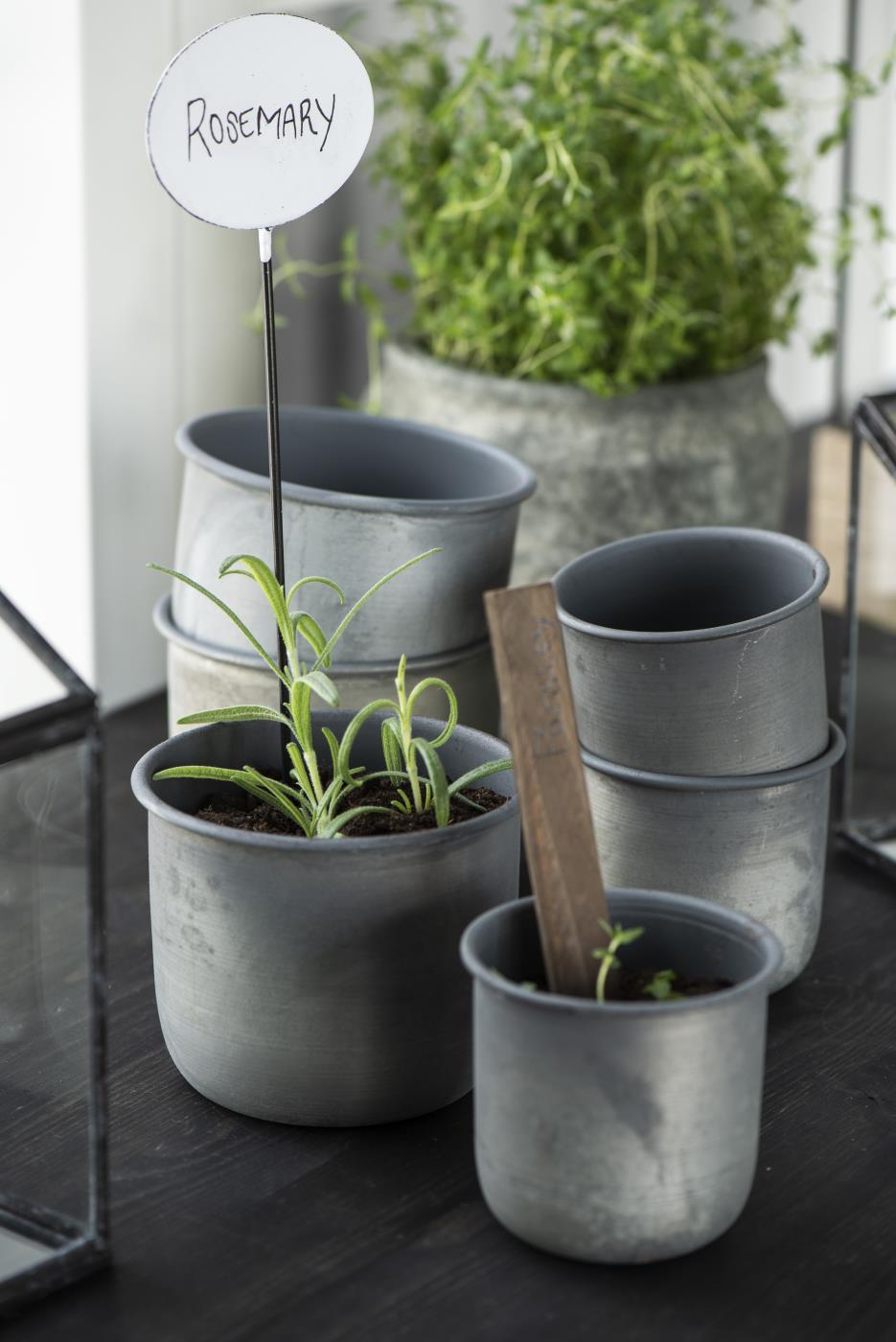 Pflanzentopf Metall - ib Laursen