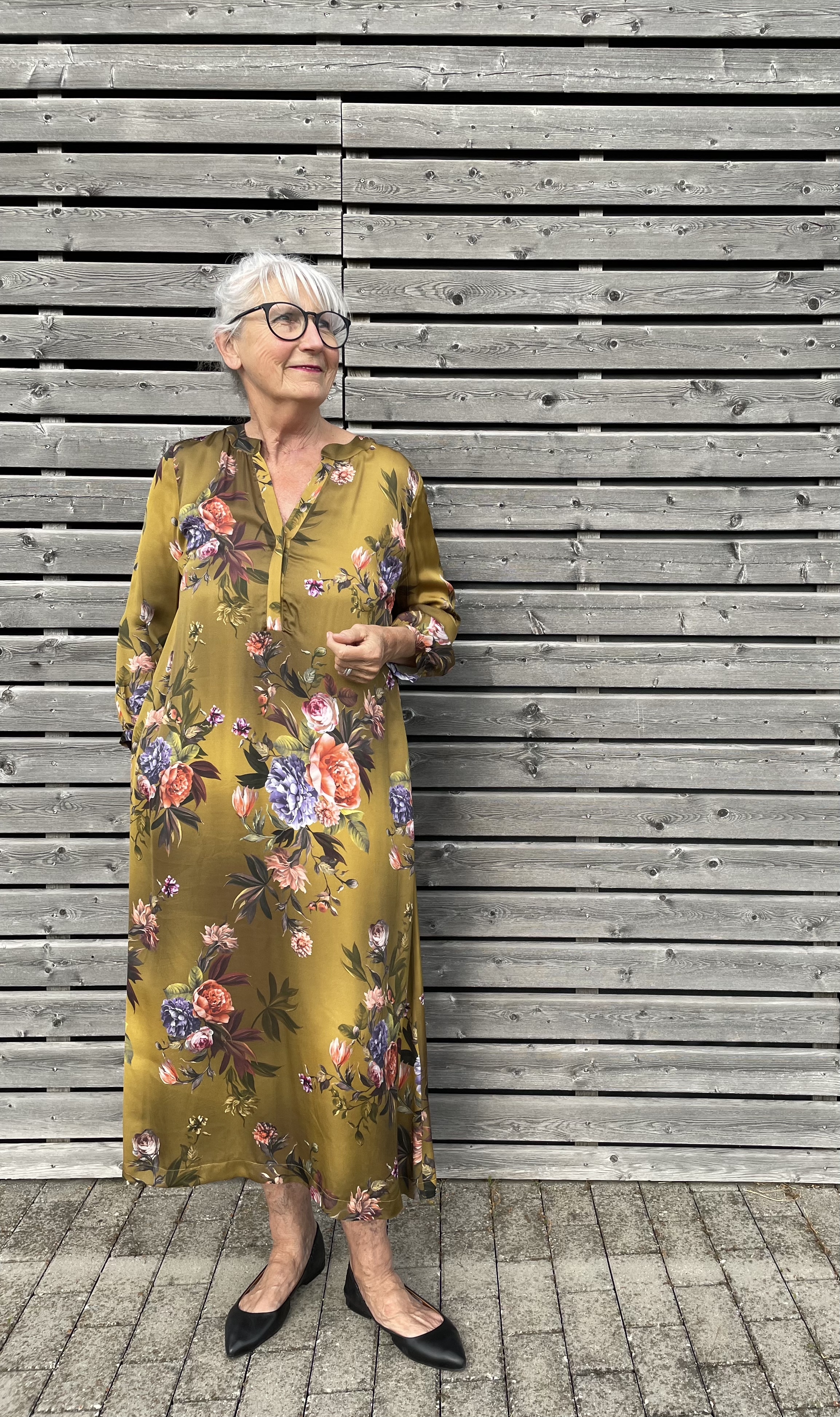 Kleid Rosen - Floer