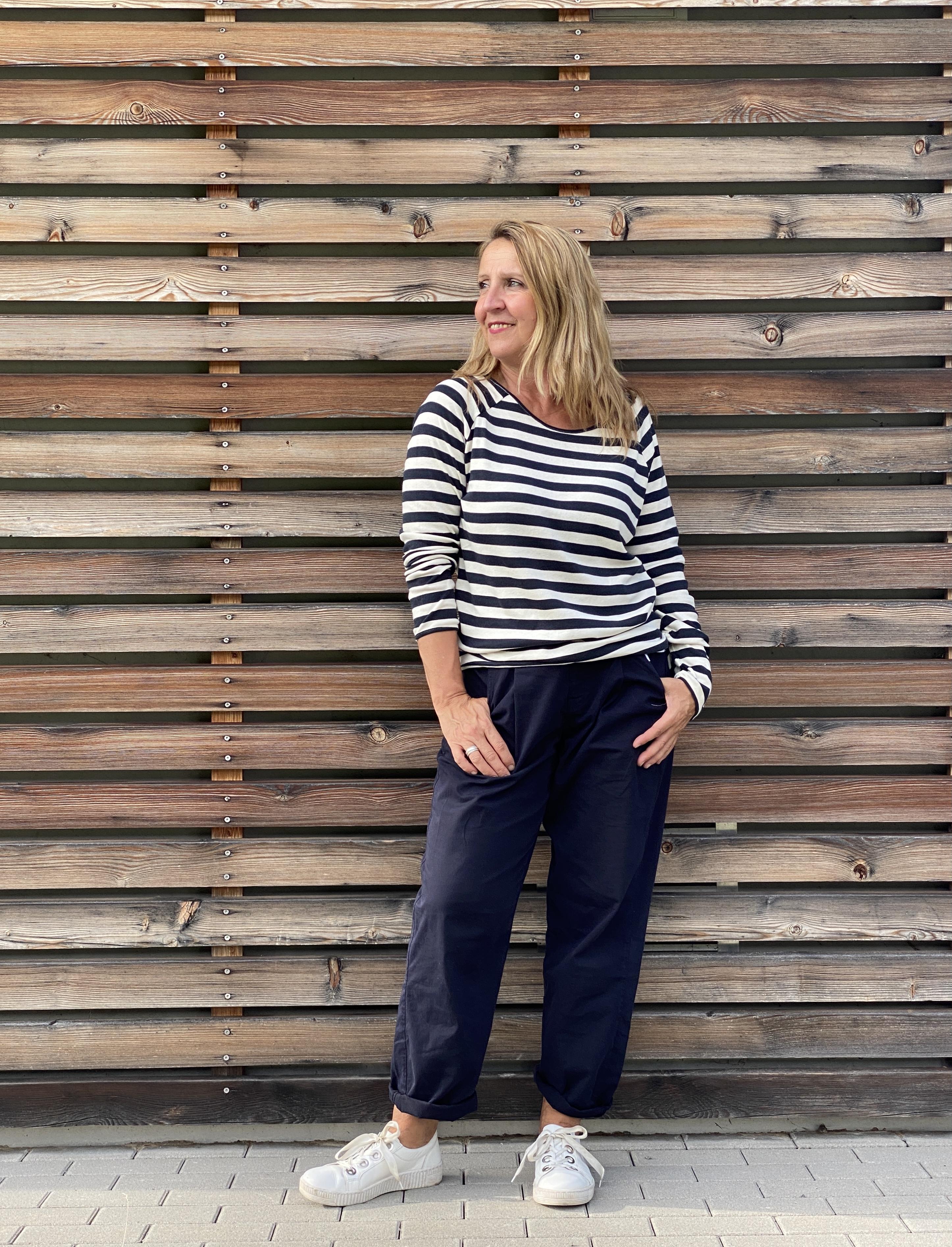 Langarm stripes - Penn&Ink N.Y