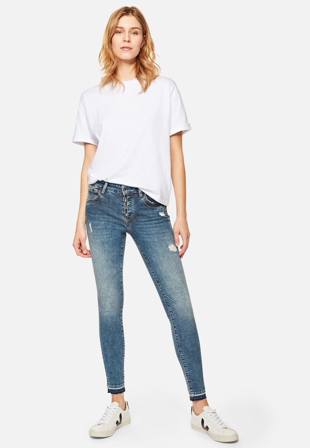 Jeans Adriana super skinny - Mavi
