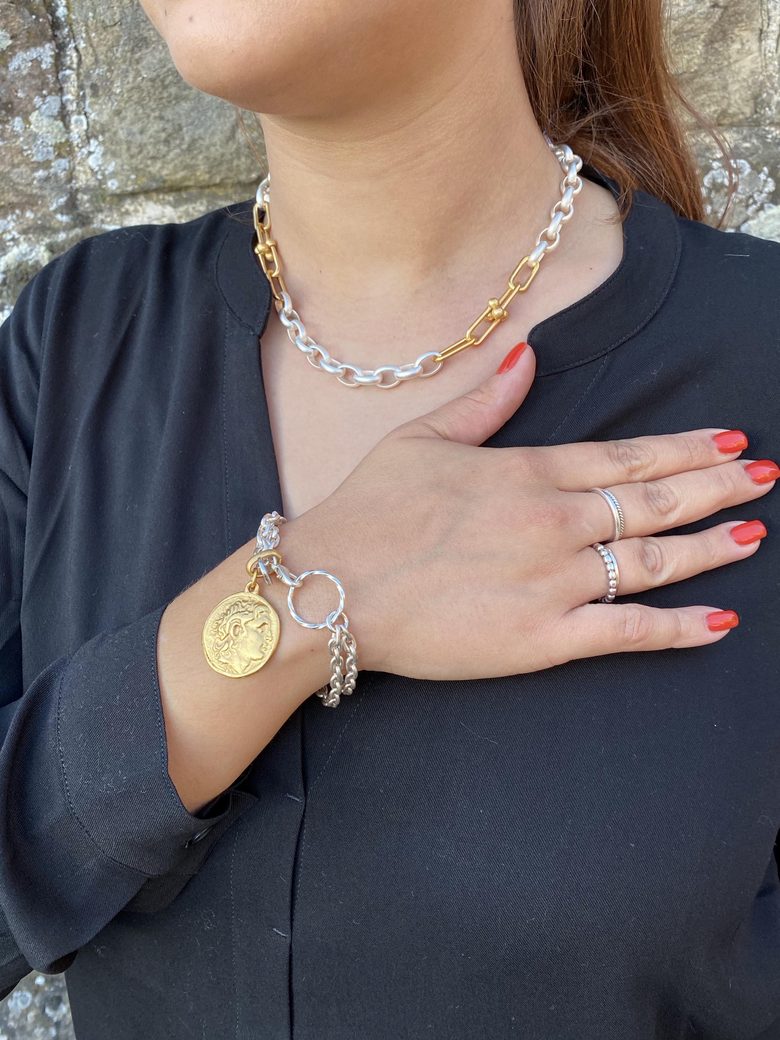 Armband Coin Runteschmuck