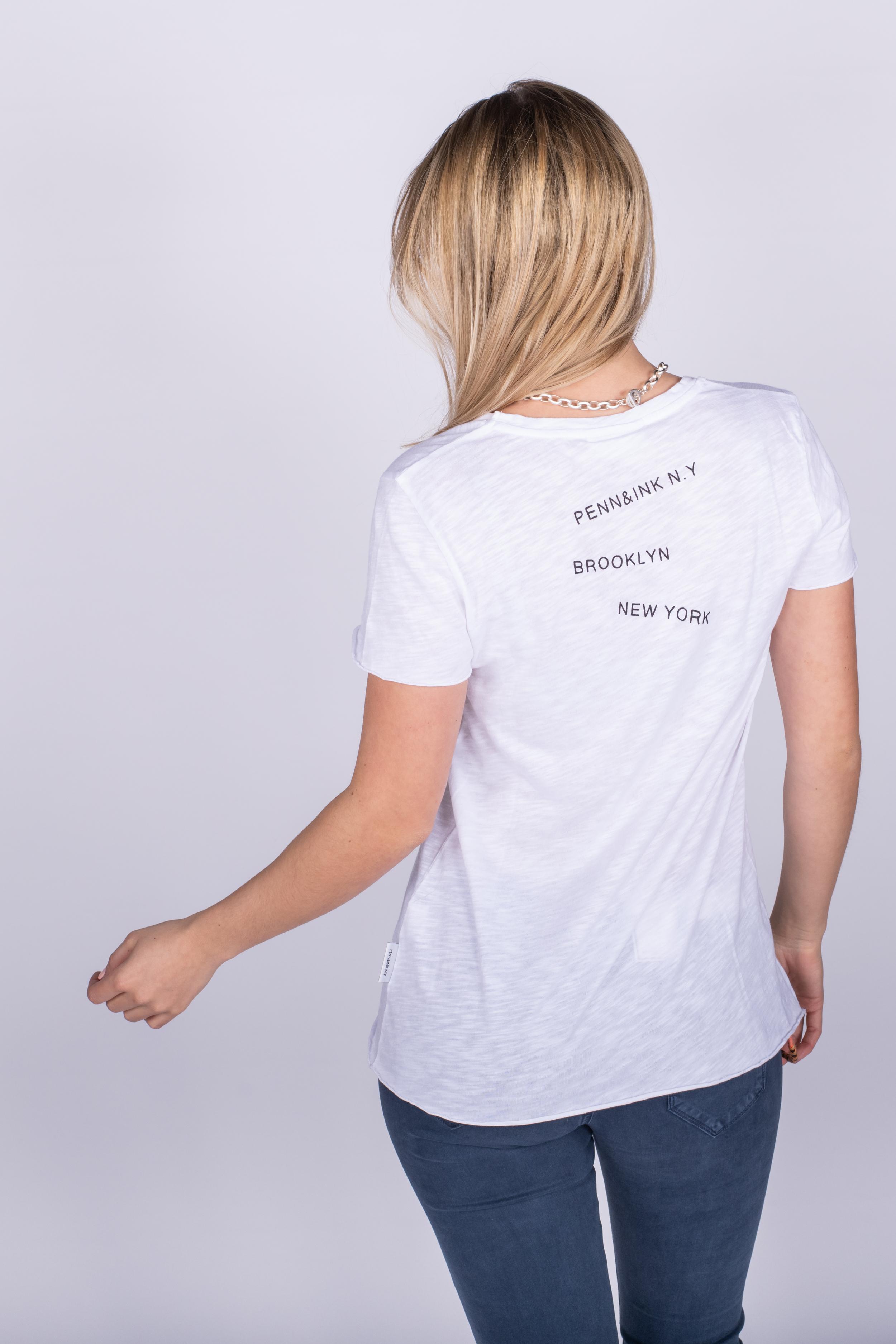 T-Shirt white - Penn&Ink